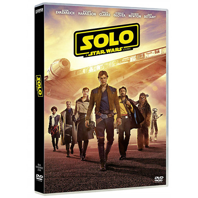 Star Wars - Solo: A Star Wars Story [Dvd Nuovo]