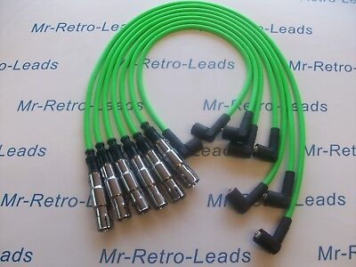 Lime Green 8Mm Performance Ignition Leads Vw Golf Corrado Vr6 Passat Obd1