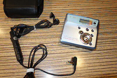 Sony MD MZ N505 Blau Minidisc Player/Recorder (88) + Remote
