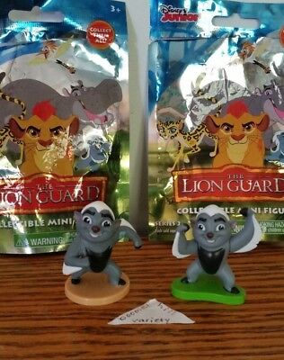 Disney Lion Guard Figures Mini Blind Bag Series 1 Bunga & Series 2 Battle Bunga