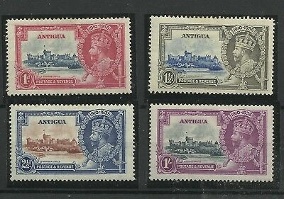 Antigua Set of 4 1935 Silver Jubilee issues, Sg 91-94, Mounted Mint. (C/W 215)