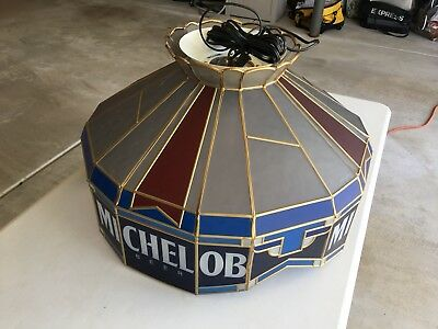 Collectible Michelob Tiffany Hanging Lamp. Brand New In-Box.