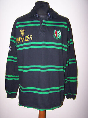 c67c8339d63 Cotton Oxford Rugby Shirt London Irish 1996/97 (XL) Alternative Guinness  Jersey