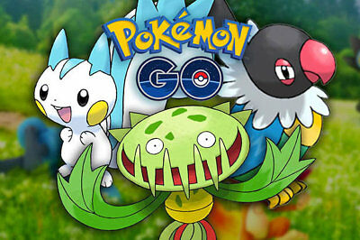 Pokemon Go Regionals - Chatot/Carnivine/Pachirisu/MORE BUY 2 GET 1 FREE!