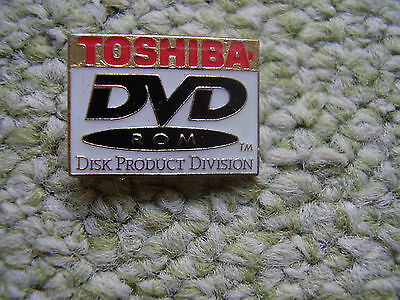Pin Pins Ansteckpin Toshiba DVD Rom Disk Product Division Toshiba Technik