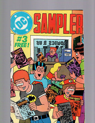 DC SAMPLER #3 COMIC BOOK NEAR MINT 1st CONSTANTINE HELLBLAZER SWAMP THING #37