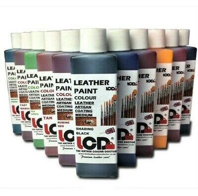 leather paint, shoes Sneakers jackets leather tooling paint dye water proof ink.