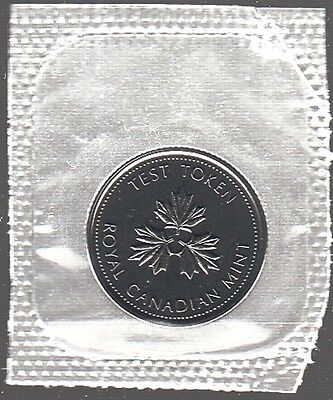 G1A Canada 10 Cents 2004 Test Token - Proof-Like In Mint Cello -