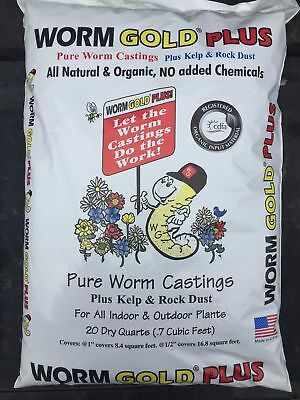Worm Gold Plus 20Qts