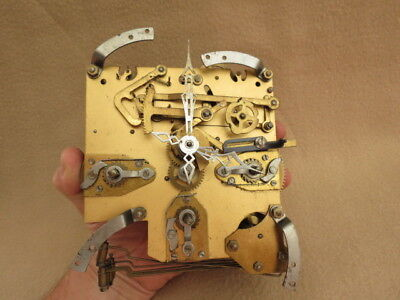 Vintage Enfield Westminster Chiming Clock Movement And Hands
