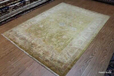 WASHED OUT HANDMADE VEGETABLE DYED Fine Quality Persian Rug Oriental Stressed