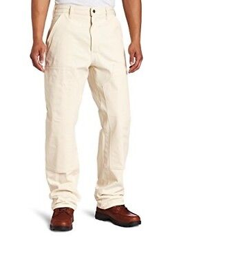 Carhartt Drill Double Front Work  38 X 32 Loose Original Fit Natural NEW
