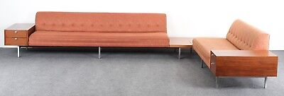George Nelson Mid Century Modern Sectional Sofa for Herman Miller, 1960s