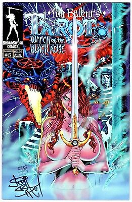 Tarot Witch of the Black Rose 5 re-issue edition Balent COA NM FREE UK POST