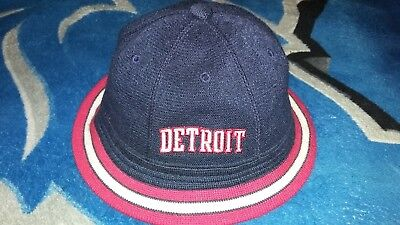 41483808 sale m l vintage 90s nike rewind detroit pistons bucket hat michigan rap  rock tour og c6638