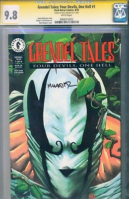 Grendel Tales: 4 devils 1 Hell #1 CGC SS 9.8 Highest Graded MATT WAGNER Signed