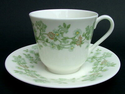 1970's Royal Doulton Summer Mist TC5056 200ml Tea Cups & Saucers - Look in VGC