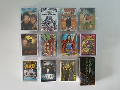 Big Lot Of Non Sport Trading Card Sets