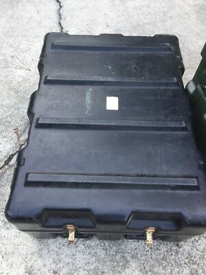 """HARDIGG 37x27x14"""" Shipping Container Hard Case Waterproof Military Grade Army"""