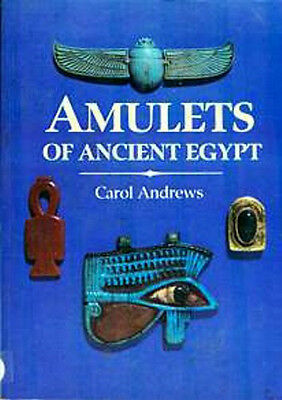 Amulets of Ancient Egypt Color Pix Scarce Out of Print Scarabs Osiris Isis Horus