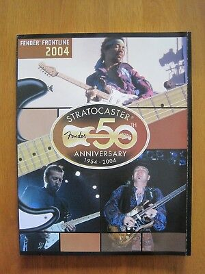 Fender Frontline 50Th Anniversary Un-Circulated 2004 Catalog Magazine; New