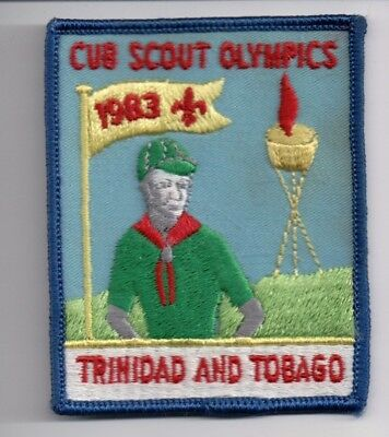 BSA Patch, Overseas Patch, 1983 Trinidad and Tobago, Neat!