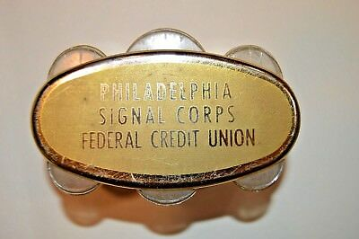 Rare Vintage Philadelphia Signal Corps coin changer with key