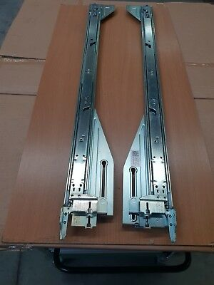 Dell Poweredge R710 Rails 2U B1  Left and Right original Dell Rails Complete