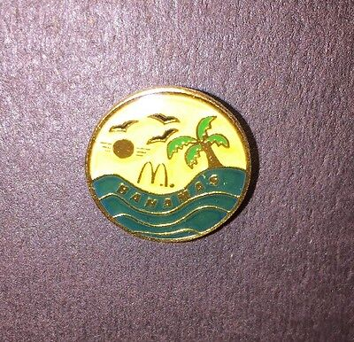 McDonald's Pinback Bahamas Collectible Pin