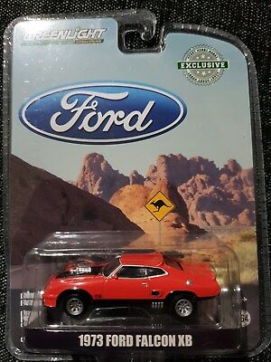 GREENLIGHT 1:64 Diecast Car - 1973 XB FORD FALCON - Red - GT351 Coupe