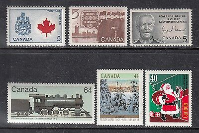 Vc697 Canada 6 Stamps 429A//1339 - Mint Og Nh Vf $4.85