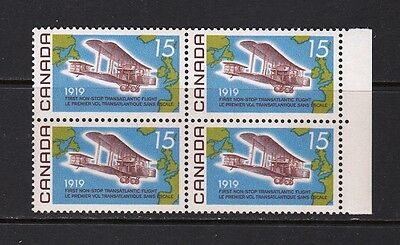 VC372 CANADA Sc#494 BLOCK OF 4 STAMPS MINT OG NEVER HINGED $10.00 RETAIL