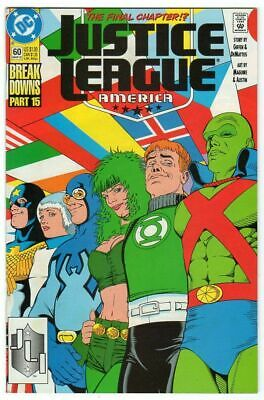 Justice League America Issue 60