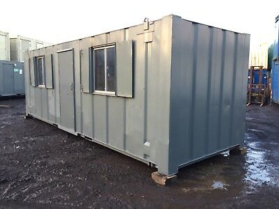 Site Office Cabin Changing Room Drying Room Welfare Unit 24ft x 8ft