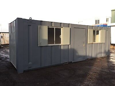 Office Cabin Portable Building Anti Vandal Steel Welfare Unit 24ft