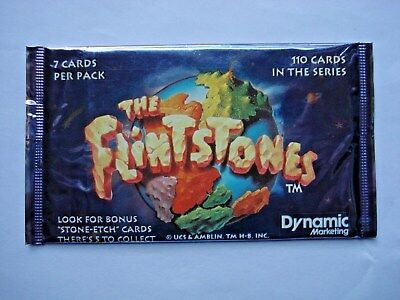 1993 Dynamic *the Flintstones Movie* Sealed Foil Pack