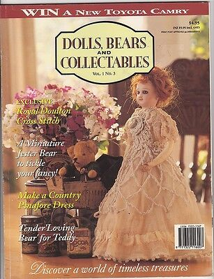Australian Dolls, Bears & Collectables - Volume 01 No 03 - 1994