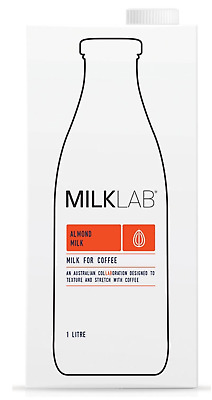 Milk Lab Almond Milk for Coffee (8x1L cartons)