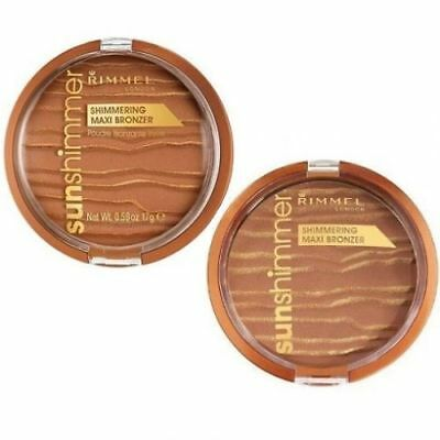 Rimmel Maxi Bronzer/Sunshimmer for face and body