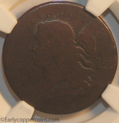 1793 C3 R3 Liberty Cap Half Cent NGC FR2 Strong Date Choice smooth surfaces