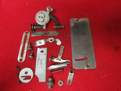 Vintage Misc Parts From A Brunswick  Treadle Sewing Machine Shuttle & Bobbin