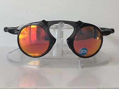 03e6465a4a OAKLEY MADMAN RUBY IRIDIUM POLARIZED Sunglasses OO6019-04 DARK CARBON