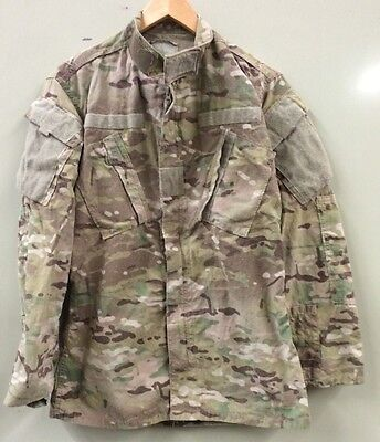 US Army Multicam OCP FR Combat Uniform ACU coat Jacke  Jacket SS Small Short