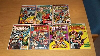 Astonishing Tales Marvel Comics 1970 Deathlok Lot 7 #28,31,32,33,34,35,36