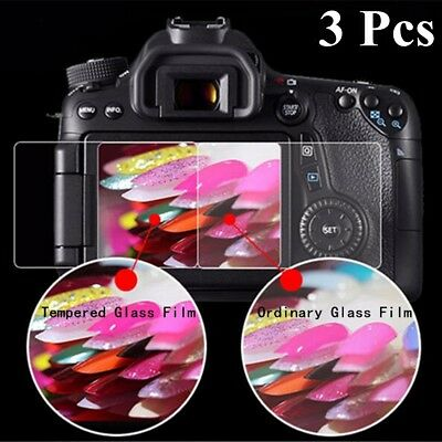 LCD Tempered Glass Film Screen Protector Guard For Nikon D3400 D3300 D3200 D3100