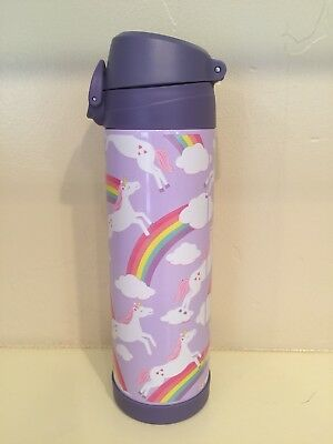 New Pottery Barn Kids Lavender Unicorn Large Insulated Water Bottle