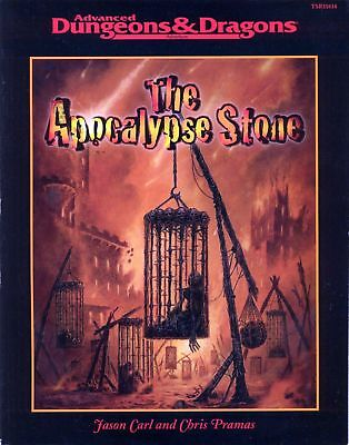 (AD&D) Advanced Dungeons & Dragons THE APOCALYPSE STONE