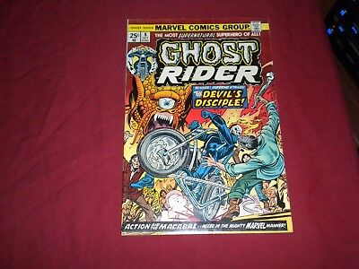 Ghost Rider #8 marvel 1974 bronze age 5.5/fn- comic! Lots of Ghost Rider listed!