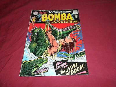 Bomba the Jungle Boy #1 (Sep-Oct 1967, DC)