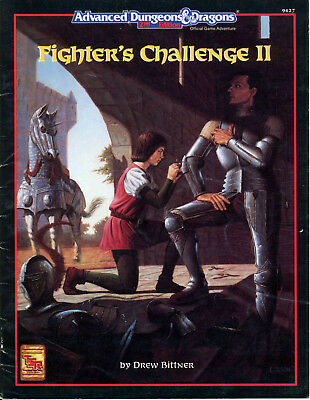AD&D 2nd Edition - FIGHTER'S CHALLENGE 2 (TSR CODE9427)